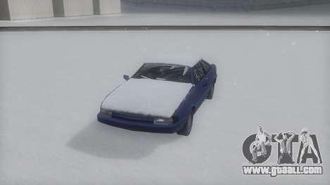 Cadrona Winter IVF for GTA San Andreas