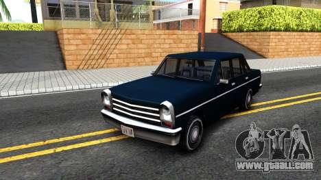 Perennial Sedan for GTA San Andreas