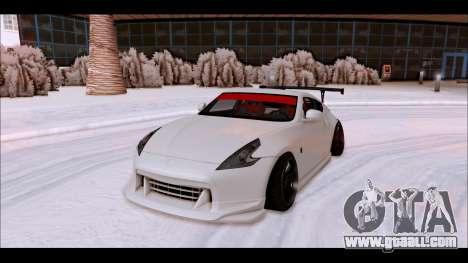 Nissan 370z Drift Edition for GTA San Andreas