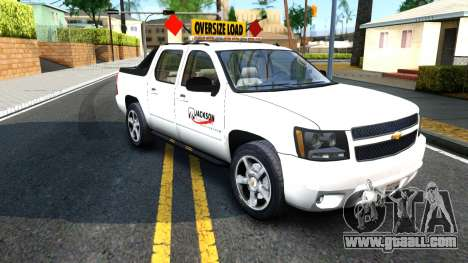 2007 Chevy Avalanche - Pilot Car for GTA San Andreas