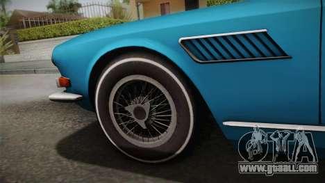 Maserati Serbin 4000 v0.1 (Beta) for GTA San Andreas back left view