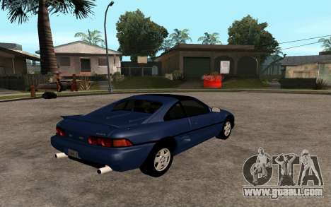 Toyota MR2 GT for GTA San Andreas left view