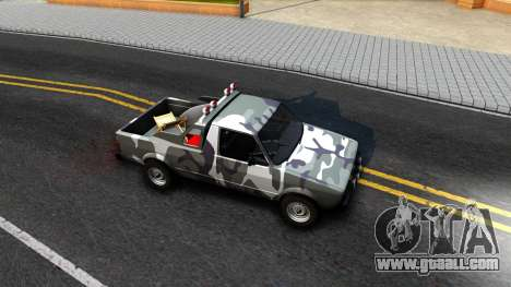 Volkswagen Caddy for GTA San Andreas back view