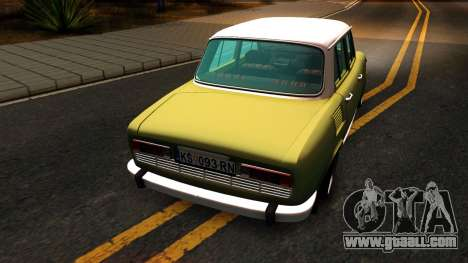 Skoda 100 for GTA San Andreas