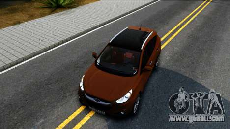 Hyundai ix35 Aze for GTA San Andreas inner view