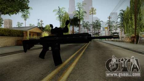 HK416 v2 for GTA San Andreas second screenshot