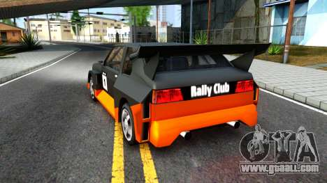 Rally Club for GTA San Andreas