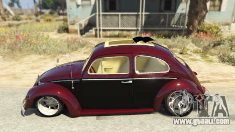 GTA 5 Volkswagen Beetle left side view