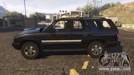 GTA 5 Chevrolet Blazer 4x4 left side view