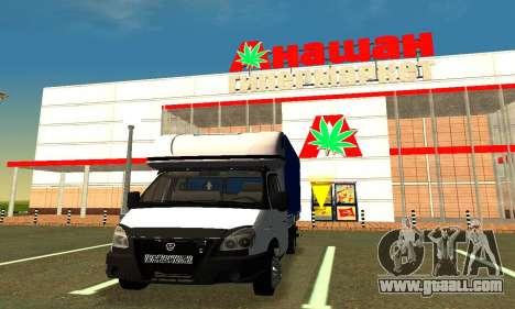 Gazelle 3302 for GTA San Andreas