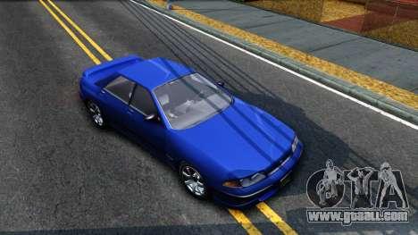 GTA V Zirconium Stratum Sedan for GTA San Andreas right view