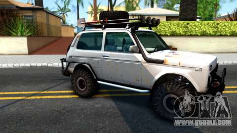 Lada Niva 4x4 Off Road for GTA San Andreas left view