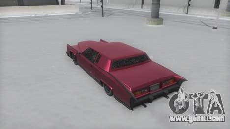 Remington Winter IVF for GTA San Andreas back left view