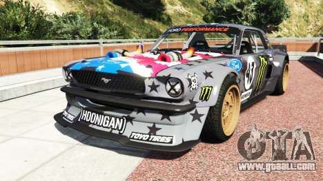Ford Mustang 1965 Hoonicorn v1.3 drift [add-on] for GTA 5