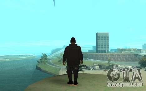 Winter Gangster for GTA San Andreas third screenshot