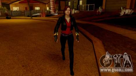 Resident Evil Revelations 2 - Claire Biker for GTA San Andreas