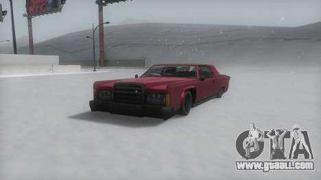 Remington Winter IVF for GTA San Andreas