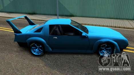 New Buffalo Custom for GTA San Andreas left view