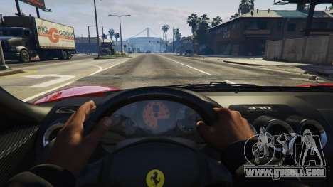 GTA 5 Ferrari 430 Scuderia right side view