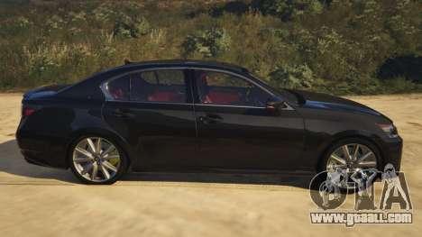 Lexus GS 350 for GTA 5