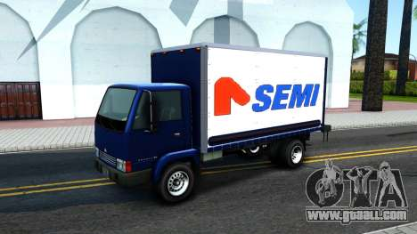 GTA IV Maibatsu Mule with GTA SA Ads for GTA San Andreas