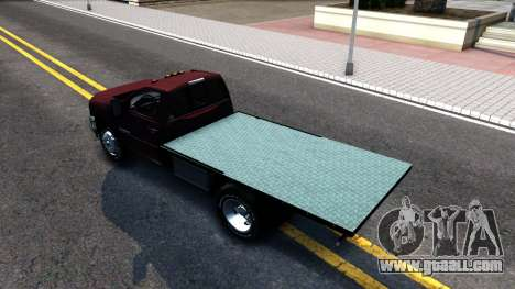 Chevrolet HD 3500 2013 for GTA San Andreas back left view