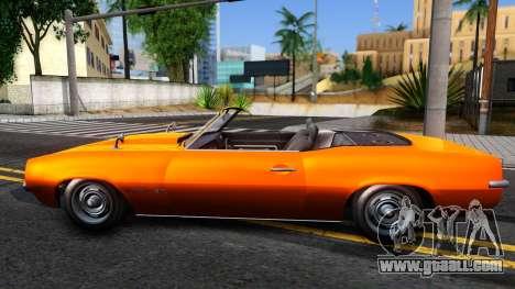 GTA V Declasse Vigero Retro Rim for GTA San Andreas left view