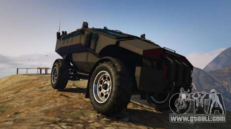 Punisher Unarmed Version for GTA 5