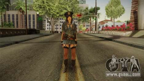 Resident Evil 6 - Helena COP Outfit for GTA San Andreas