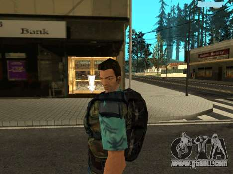 Tommy Vercetti Stalker for GTA San Andreas third screenshot