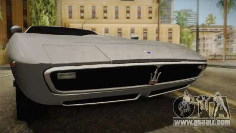 Maserati Ghibli v0.1 (Beta) for GTA San Andreas back view