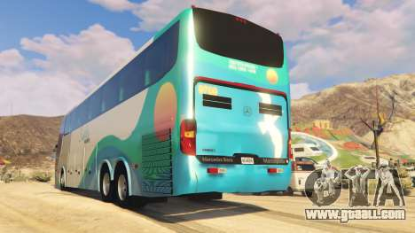 GTA 5 Marcopolo Paradiso G6 1550LD rear left side view