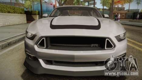 Ford Mustang RTR Spec 2 2015 for GTA San Andreas right view