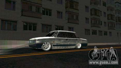 2107 Classic 2 Winter edition for GTA San Andreas left view