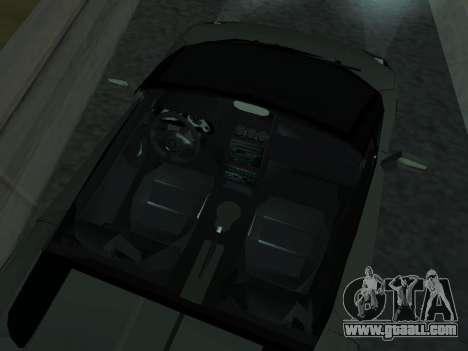 Lamborghini Galardo Spider for GTA San Andreas upper view