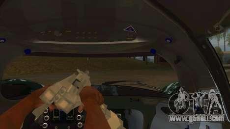 Praga R1 for GTA San Andreas inner view