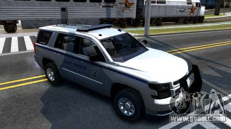 2015 Chevy Tahoe San Andreas State Trooper for GTA San Andreas left view