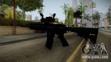 HK416 v2 for GTA San Andreas third screenshot