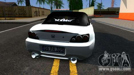 Honda S2000 for GTA San Andreas back left view