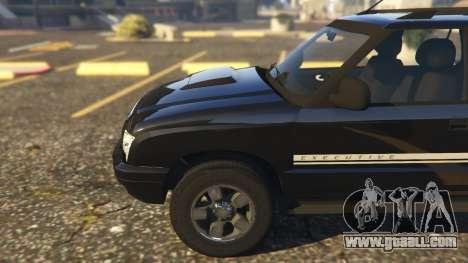 GTA 5 Chevrolet Blazer 4x4 right side view