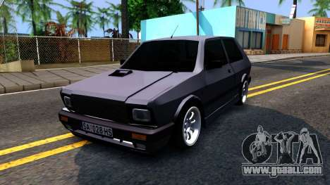 Yugo Koral 45 Sport Tuning for GTA San Andreas