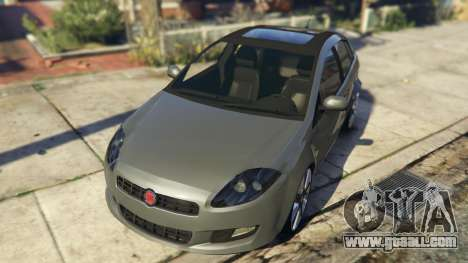 GTA 5 Fiat Bravo 2011 back view