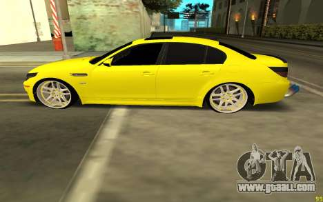 BMW 5 Series E60 for GTA San Andreas left view
