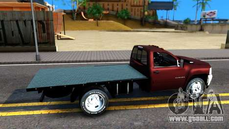 Chevrolet HD 3500 2013 for GTA San Andreas right view