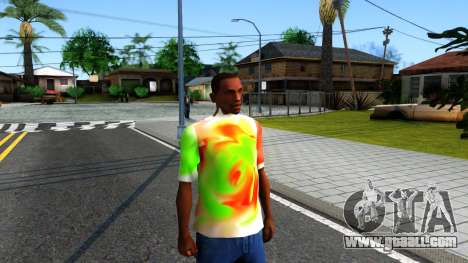 Mix T-Shirt for GTA San Andreas second screenshot