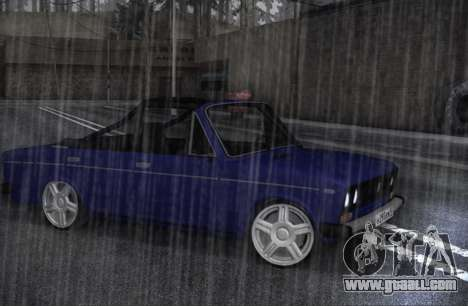 VAZ 2106 KBR for GTA San Andreas left view