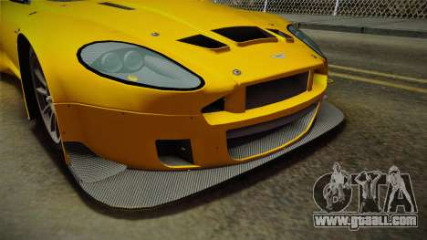 Aston Martin Racing DBRS9 GT3 2006 v1.0.6 Dirt for GTA San Andreas engine