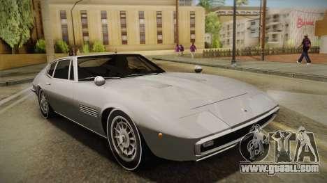 Maserati Ghibli v0.1 (Beta) for GTA San Andreas