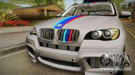 BMW X5M 2012 Special for GTA San Andreas right view