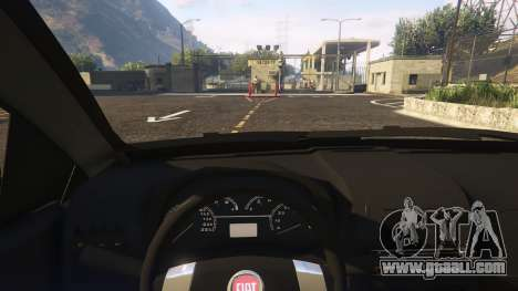 GTA 5 Fiat Bravo 2011 right side view